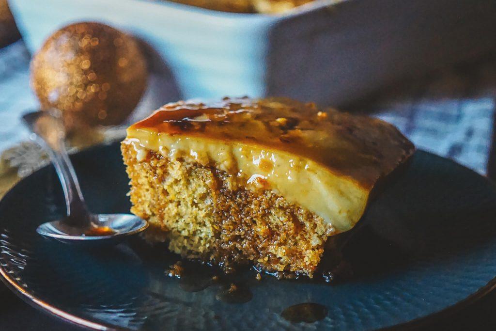 ORANGE CUSTARD CAKE