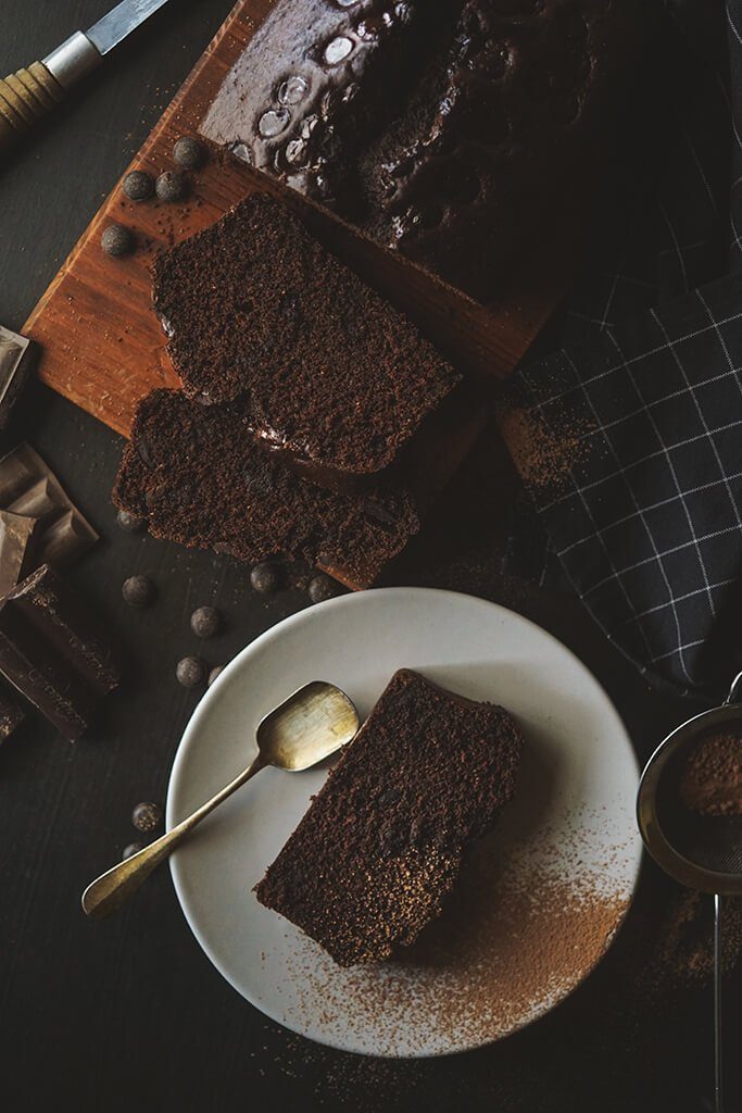 DARK CHOCOLATE LOAF CAKE