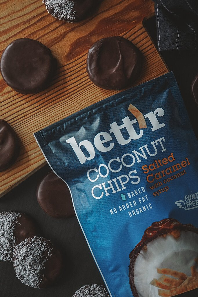 CHOCOLATE COVERED COCONUT COOKIES